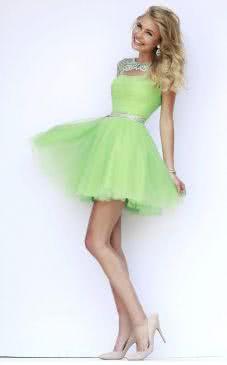 Vestido Corto de Fiestas Sherri Hill Modelo 11191 - vestidos graduacion, vestidos para boda